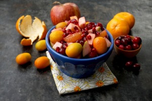 Winter Cranberry Fruit Salad