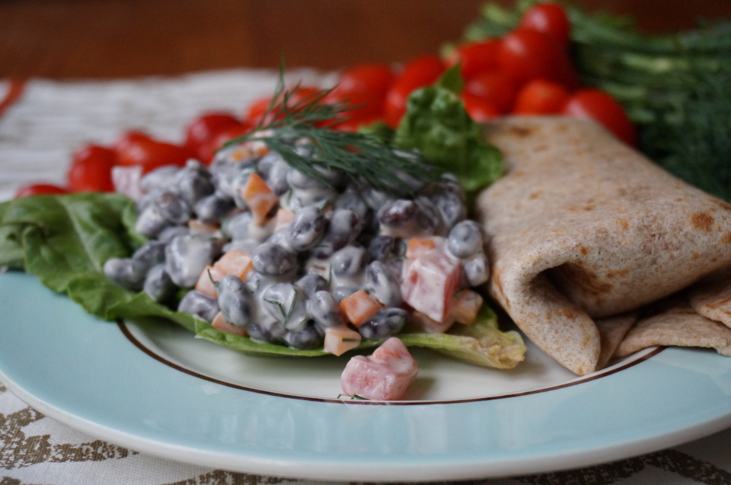 Black Bean Wrap1