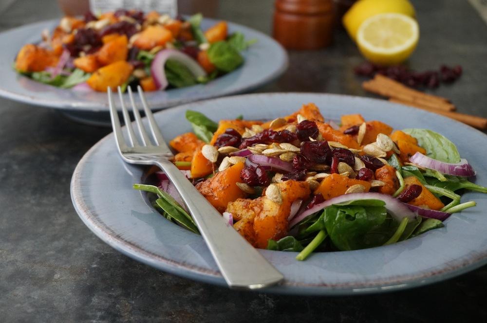 Butternut Squash Salad 5