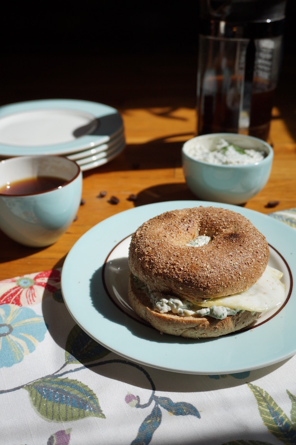 Bagel with Dill