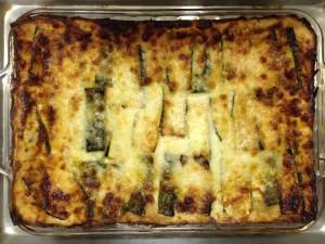 spinach lasagne