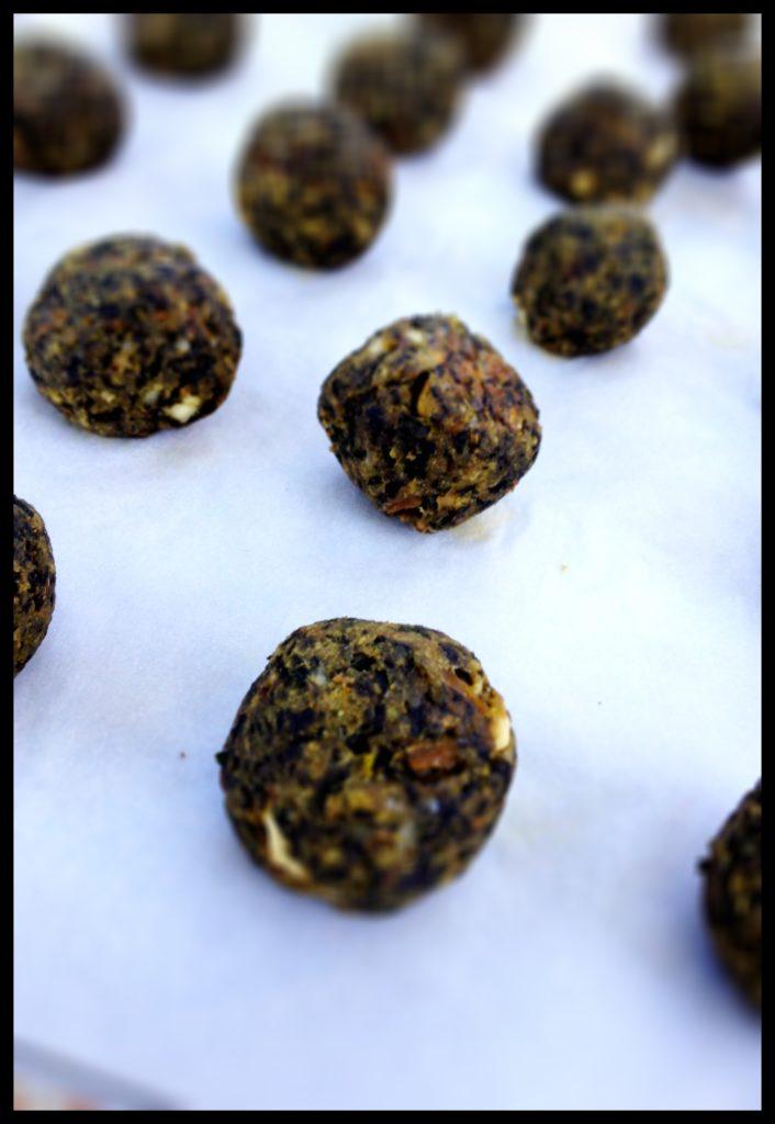 baked meatlessballs