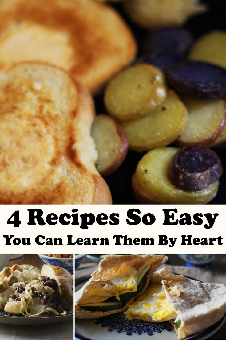 Dinner just got easier! 4 easy, frugal recipes