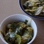 Escarole with Lemon Dressing