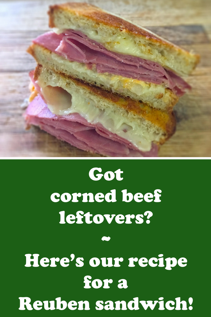 The ideal way to use up leftover corned beef! #stpatricksday