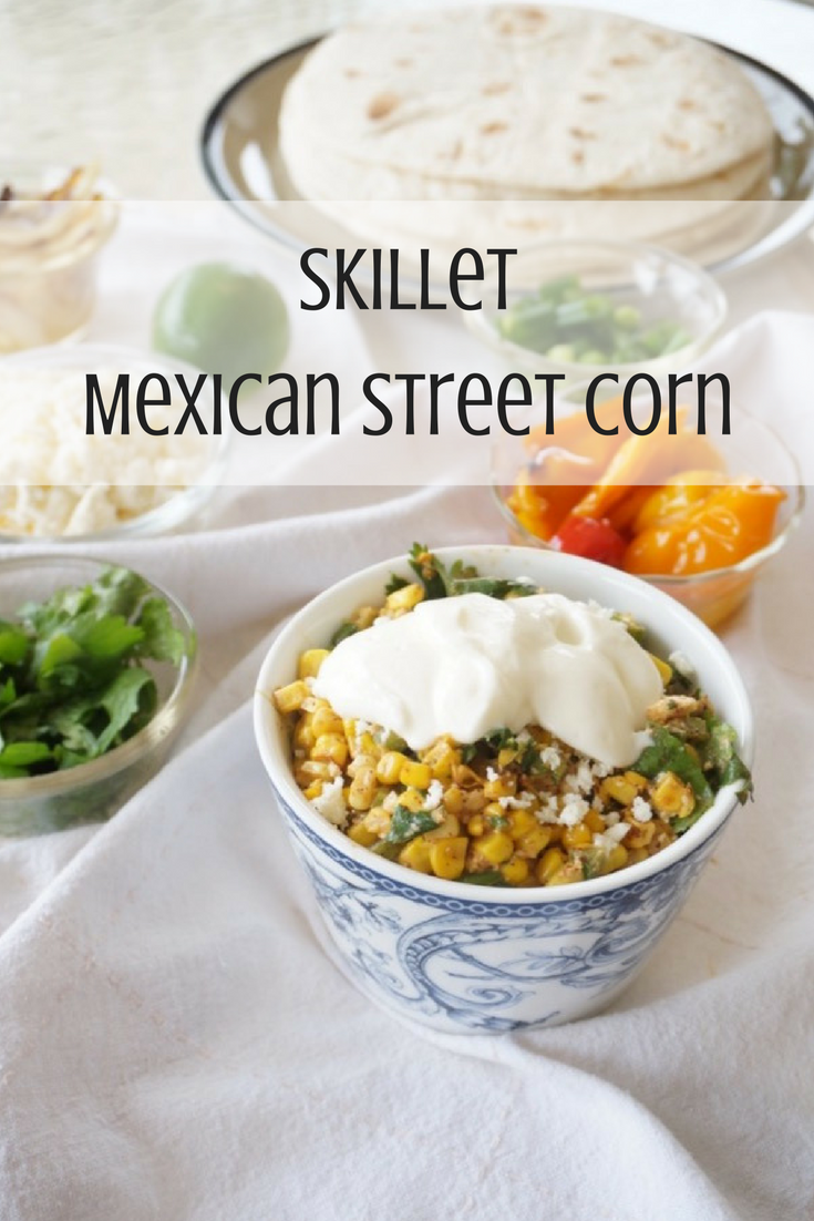 Traditional grilled #streetcorn, now made into a dish you can spoon onto your favorite #burritos