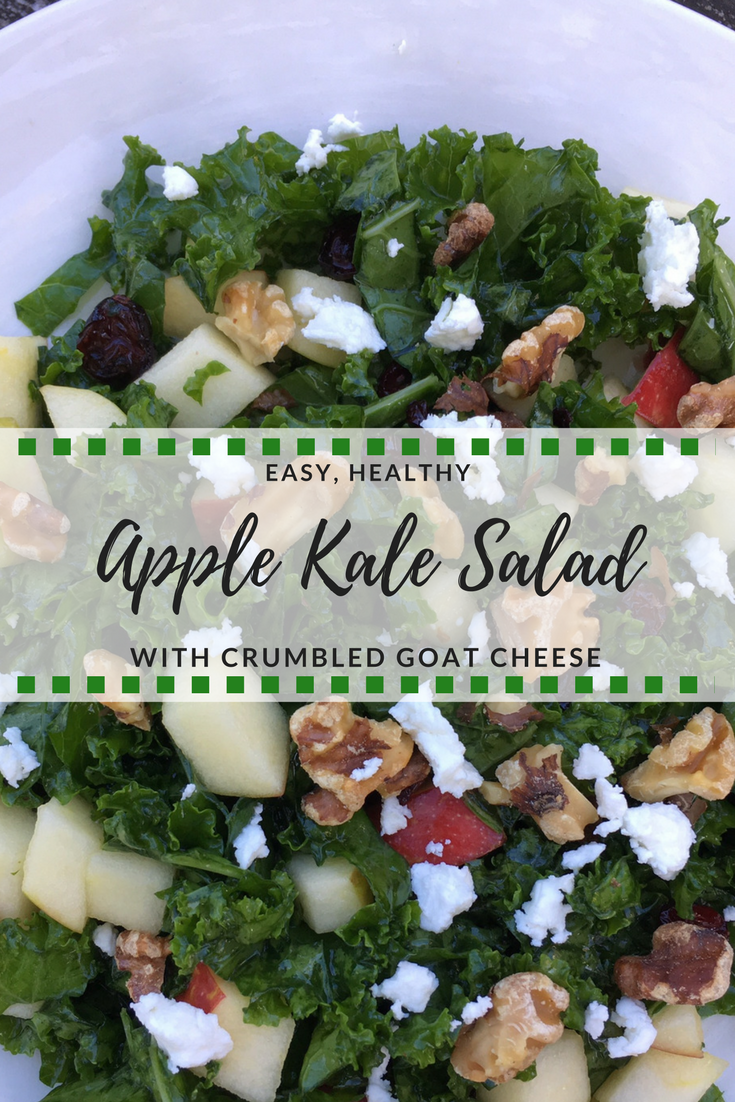 Kale is even more nutritious when eaten raw - which means this salad is super healthy!