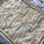 apple slab pie to feed a crowd