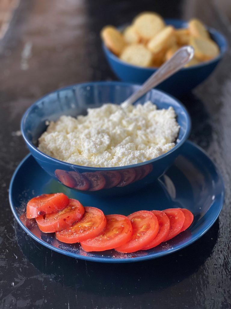 Ricotta with Tomatoes